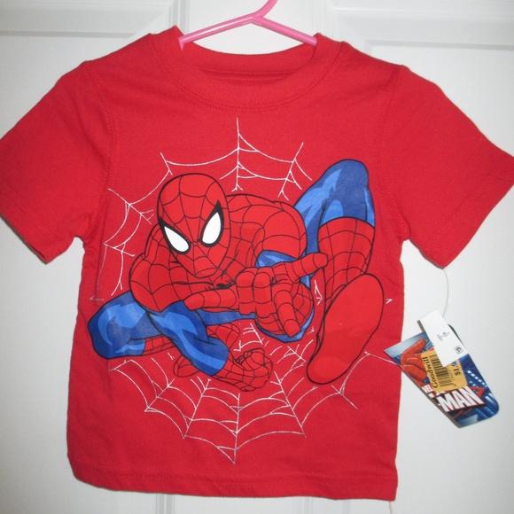 BNWL Spider-Man long sleeve top marvel T-shirt